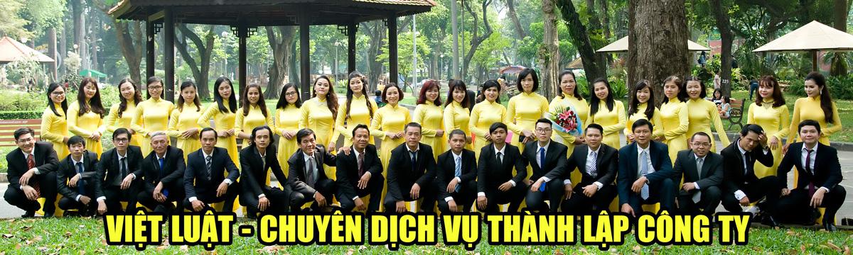 Việt Luật - Chuyên cung cấp dịch vụ tư vấn thành lập công ty trọn gói tại TP.HCM