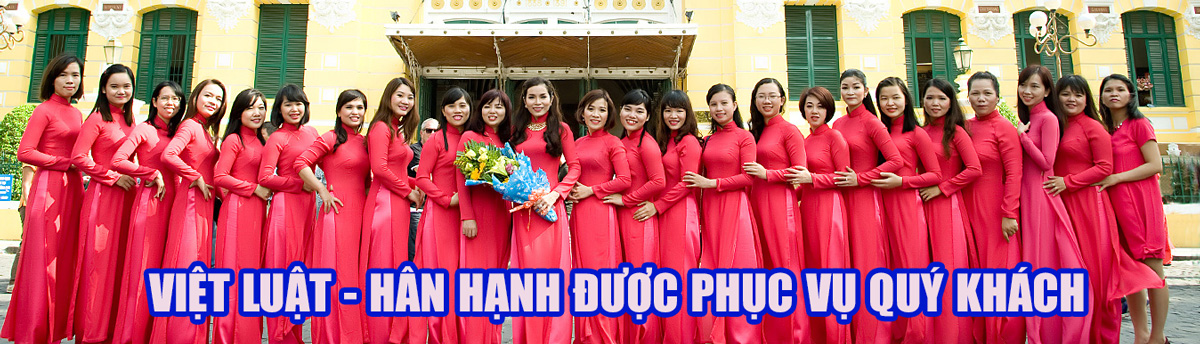 Việt Luật - hân hạnh được hỗ trợ quý khách trong việc thành lập doanh nghiệp