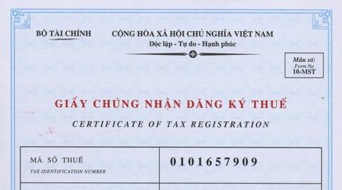 Mã số thuế
