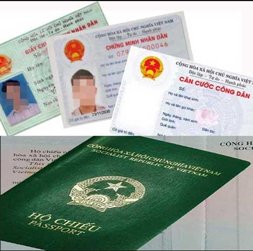 CMND hoặc hộ chiếu cần thiết cho đăng ký doanh nghiệp