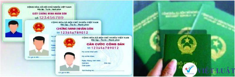 CMND hoặc CCCD hoặc Hộ chiếu