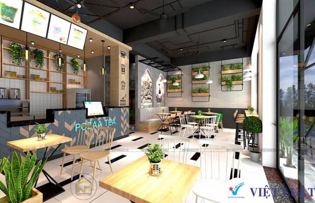 Mở cửa hàng mua bán trà sữa năm 2021