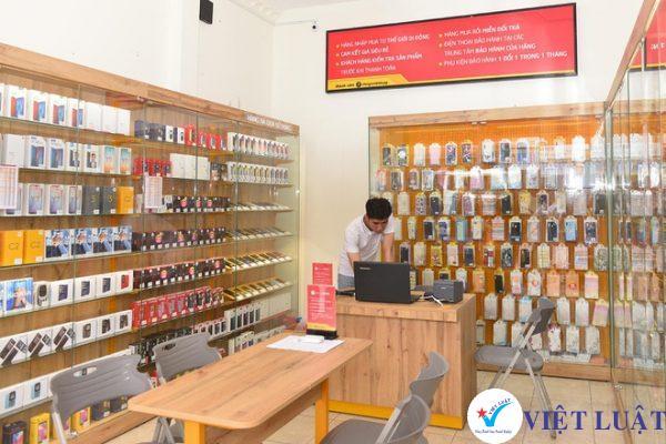Mở cửa hàng bán điện thoại di động và phụ kiện năm 2021
