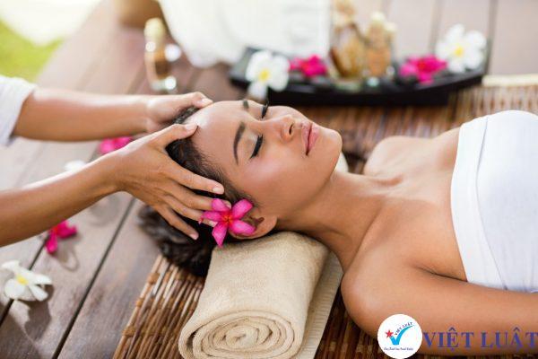 Thành lập công ty ngành dịch vụ massage, xông hơi, xoa bóp năm 2020