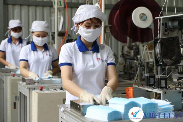 Thành lập công ty sản xuất khẩu trang năm 2021