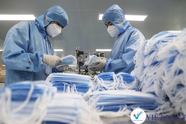 Thành lập công ty ngành sản xuất khẩu trang tại TP.HCM