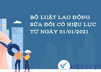 Những nội dung doanh nghiệp cần sửa đổi, bổ sung trong Nội quy lao động trước ngày 01/01/2021