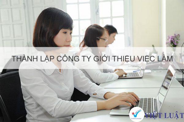 Thành lập công ty ngành giới thiệu việc làm tại Tp.HCM