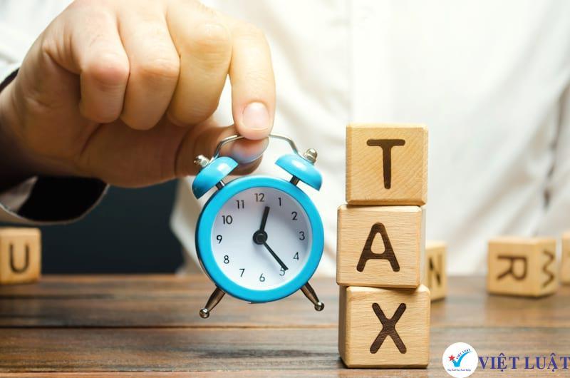 Các mức xử phạt vi phạm hành chính về thời hạn nộp tờ khai thuế