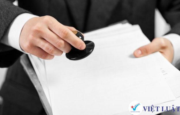 Từ 01/01/2021 doanh nghiệp không phải thông báo mẫu dấu trước khi dùng