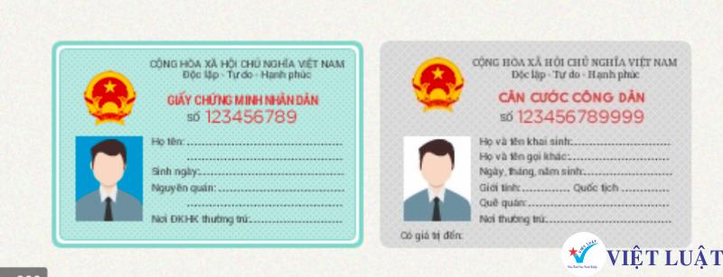 Thay đổi CMND sang thẻ CCCD cho đại diện pháp luật, thành viên công ty